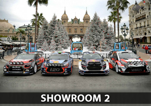 Showroom 2 - Quality rally cars