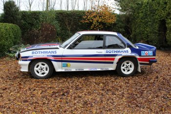 Ex Works Opel Ascona 400 Group B Rally Car