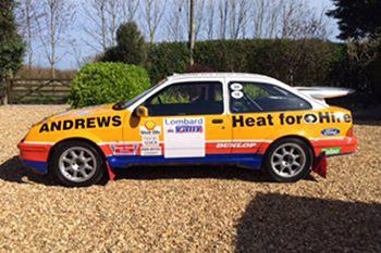 Ex Works 3 Door Sierra Cosworth GP.A Rally car