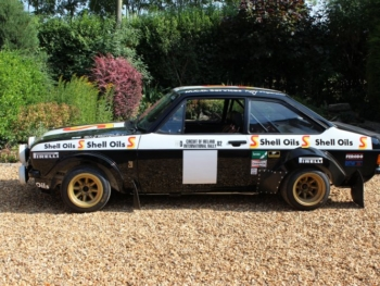 Ex. Ari Vatanen Shell Oils MK2 Escort RS1800