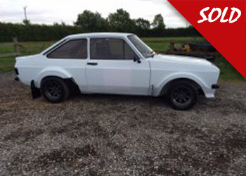 MK2 Escort 2.0 Group 4 Rally car (NEW BUILD)