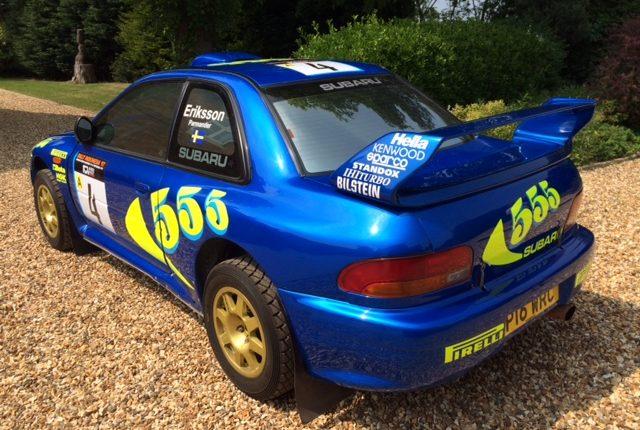 Ex Works Subaru Impreza 97 Wrc Jason Lepley Motorsport