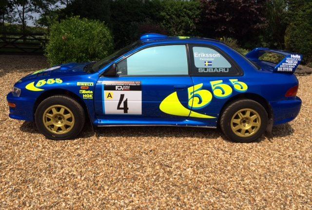 Ex Works Subaru Impreza 97 WRC