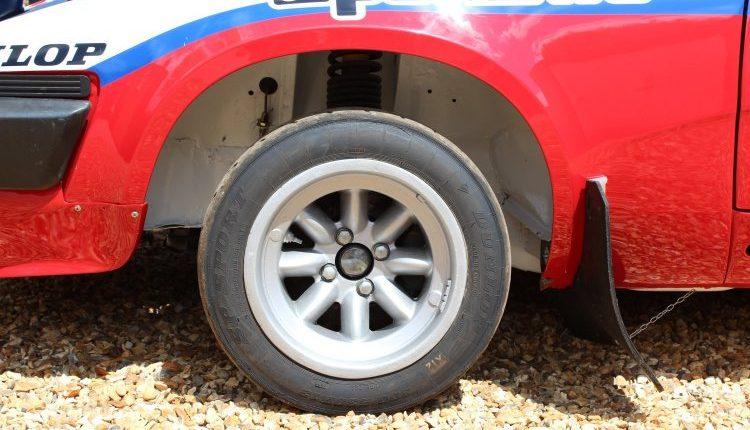 Ex Works Triumph TR7 V8 Rallycar