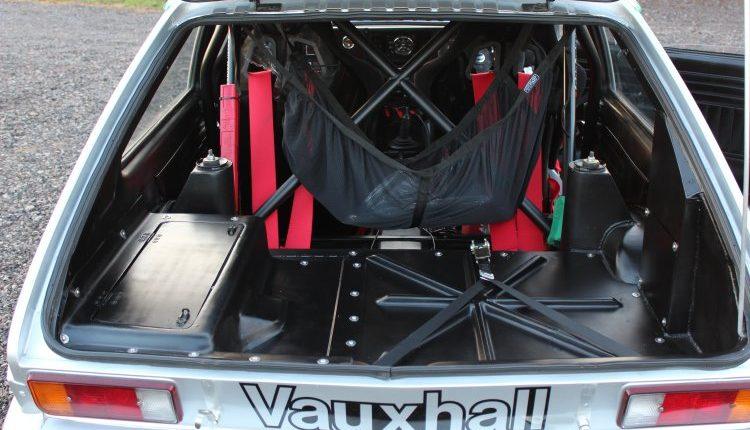 Ex Works Vauxhall Chevette Hsr Historic Rallycar Jason