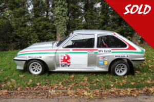 Ex Works Vauxhall Chevette HSR Historic rallycar