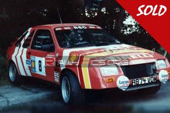 Ford Sierra RED 4T Ex Roger Clark
