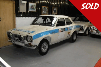 MK1 Escort RS1600 Ex Ford Motor Company