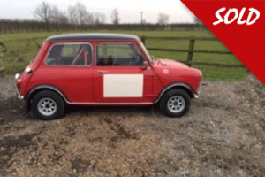 MK1 Mini Cooper Historic Rally