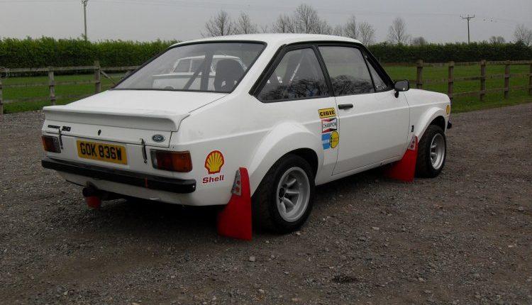 Mk2 Escort Rs1800 Rally Car Ex Bob Dowen Jason Lepley
