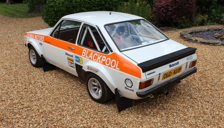 MK2 Escort RS1800 Works supported car6