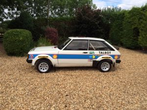 Works spec. Talbot Sunbeam Lotus Group 2 Rally car 10