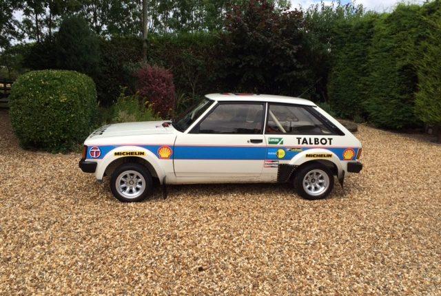 Showroom Historic Rally Cars Jason Lepley Motorsport