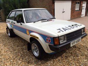 Works spec. Talbot Sunbeam Lotus Group 2 Rally car 10