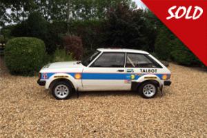 Works spec. Talbot Sunbeam Lotus Group 2 Rally car