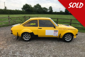 Sold MK2 Escort 2.5 Millington
