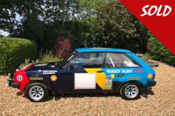 Lotus Sunbeam Rally Car Sold