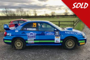 Subaru Impreza N9 Rally Car Sold