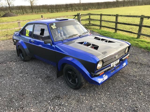 Mk2 Escort 2 5 Xe Rally Car Jason Lepley Motorsport