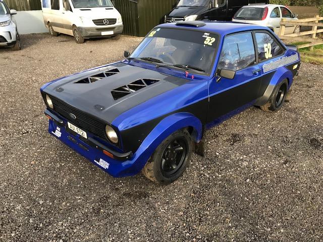 MK2 Escort 2 5 XE rally car | Jason Lepley Motorsport